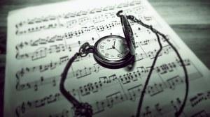 reloj musica